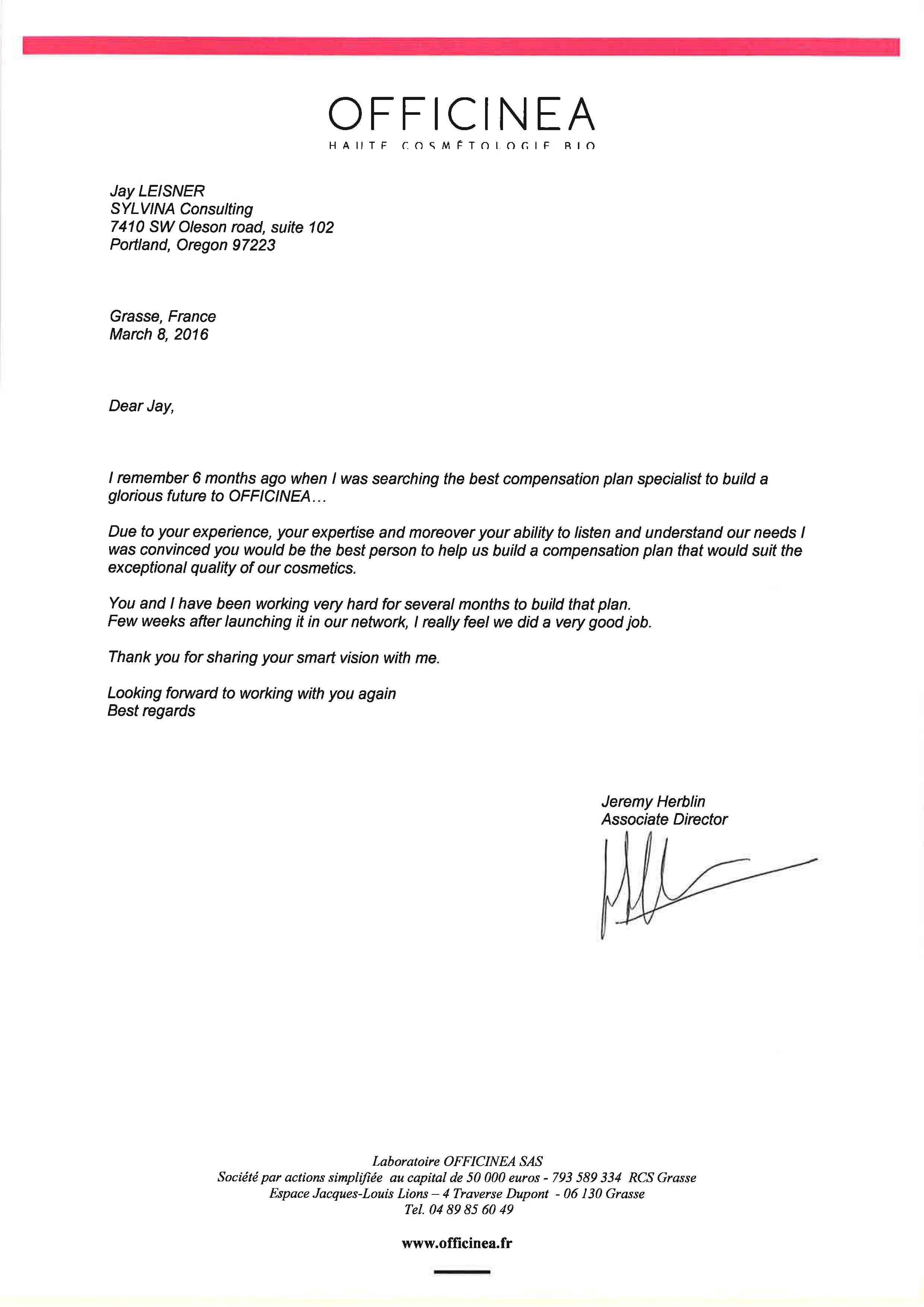 client letters consulting below are some of the letters our clients have written to thank us we d like to share them you here